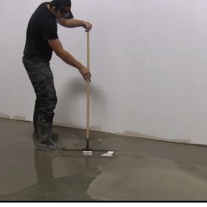 Cement Based Floor Coating